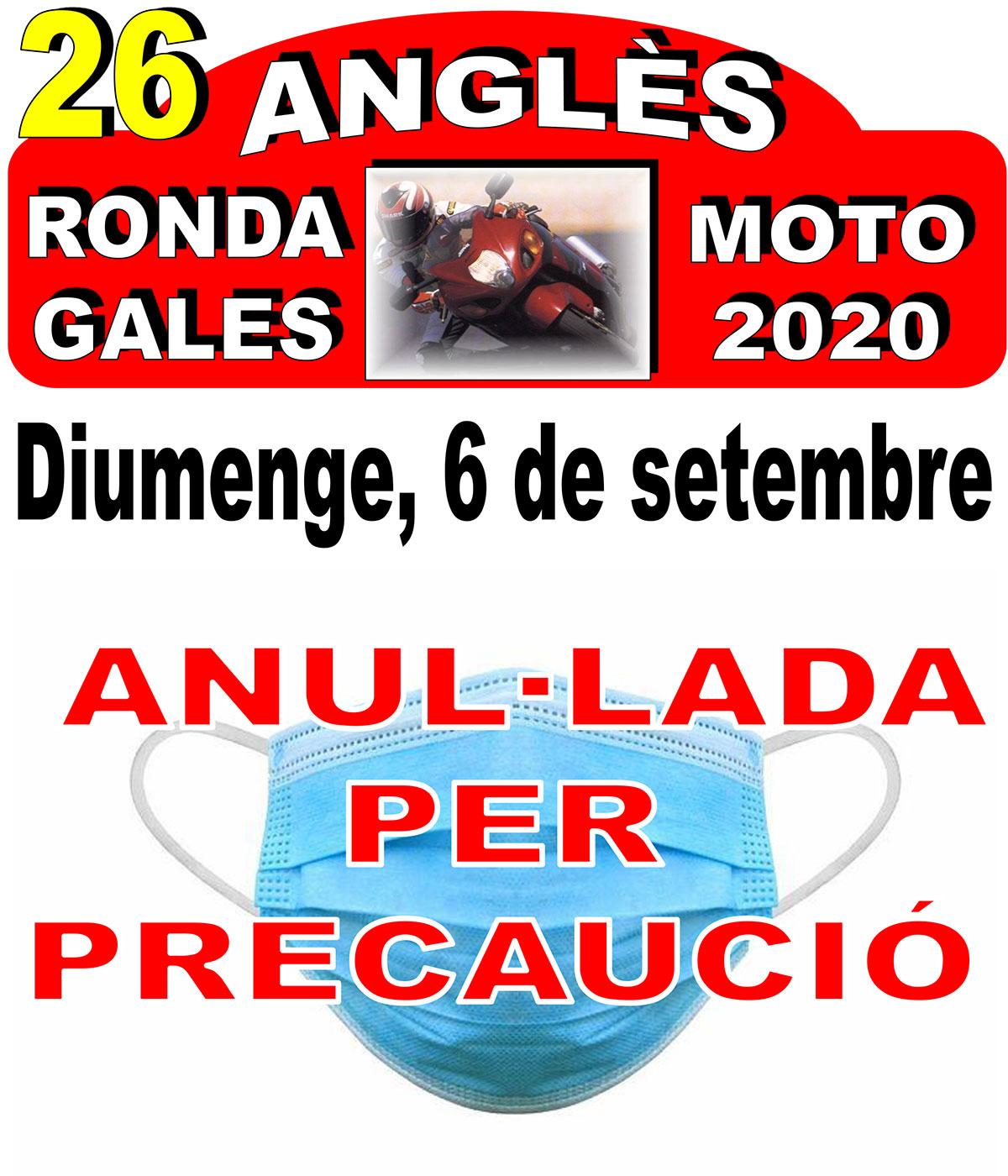 Ronda Moto 2020 Cancel·lada